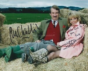 John Challis & Sue Holderness HAND Signed 8x10 Photo Only Fools & Horses (C)