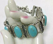 LUCKY BRAND Faux Turquoise Southwest Bracelet