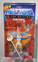 AFA 95 He-Man 1987 MOTU Mattel Sorceress Series 6 NEW (90-95-95) Highest Grade