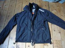 SUPERDRY jacket bomber/harrington size XL black