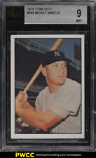 1978 TCMA The 60's Mickey Mantle #262 BVG 9 MINT (PWCC)