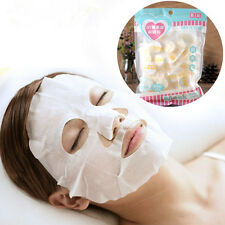 30X/pack Health Women Natural Compression Facial Skin Care Face Mask Paper Sheet