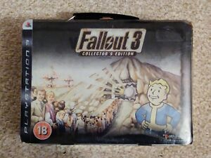 Fallout 3 UK Collector's Edition Sony PS3 PlayStation Lunchbox Bobblehead *New!*