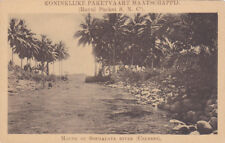 CELEBES, Indonesia, 1900-1910's; Mouth Of Soemalata River