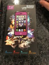 LifeProof Fre Waterproof Case for iPhone 5 Purple New