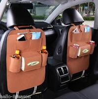 HQ Car Auto Back Seat Multifunctional Storage Bag Bottle Book Organizing Box
