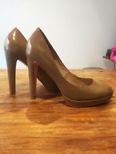 RMK NUDE PATENT LEATHER PUMPS SIZE 40