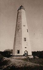 Bald Head Island Lighthouse Southport North Carolina 1885, NC Light --- Postcard