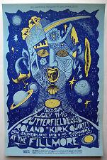 1967 BONNIE MACLEAN PAUL BUTTERFIELD BILL GRAHAM FILLMORE POSTER BG 72 MINT!