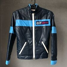 Very RARE 1970's elf Team Tyrrell F1 Formula one Racing Jacket England VTG Retro