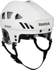 Reebok 7K Senior Ice Hockey Helmet White/Silver Size Small New W/ Tag Free Ship