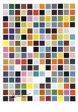 Kunstpostkarte / Postcard - Gerhard Richter: 192 Farben