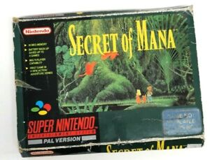 Secret of Mana Nintendo SNES Boxed