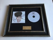 SIGNED/AUTOGRAPHED KIMBERLY ANNE - HARD AS HELLO FRAMED CD PRESENTATION