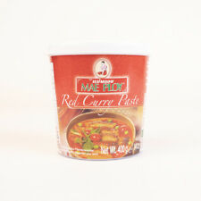 MAE PLOY THAI RED CURRY PASTE TUB - 400G UK SELLER