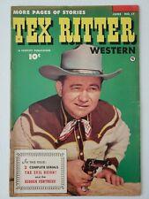 Tex Ritter Western (1953) #17  Comic book