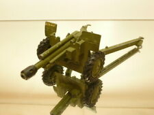 DINKY TOYS AMERICAN 105mm GUN - ARMY GREEN - GOOD CONDITION