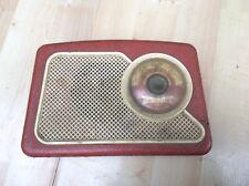 Dansette 222 transistor radio 1960s red