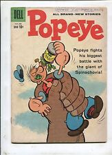 POPEYE #51 - THE GIANT OF SPINACHOVIA! (4.5) 1960