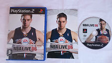 JUEGO NBA LIVE 06 2006 BASTKET BASKETBALL PLAYSTATION 2 PS2 PAL ESPAÑA