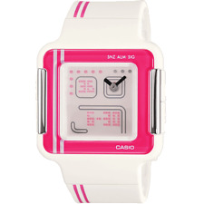 Casio Poptone Watch LCF-21-4DR. New and Boxed. Many features.