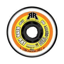 RINK RAT Single Wheel 76mm 78a DUAL IDENTITY Orange/Yellow Inline Indoor Hockey