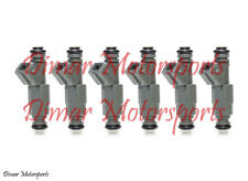 BMW 3.5L I6 735i L6 L7 635i Genuine BOSCH Fuel Injector Set Upgrade 4 Nozzle
