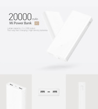 Xiaomi Mi Power Bank 2C 20000mAh QC3.0 Quick External Portable Battery Charger