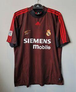 2002-03 Real MADRID GK L/S No.1 CASILLAS La Liga Jersey Shirt Trikot