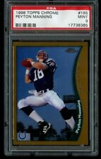 1998 Topps Chrome Peyton Manning Rookie PSA 9 Mint RC #165 🔥