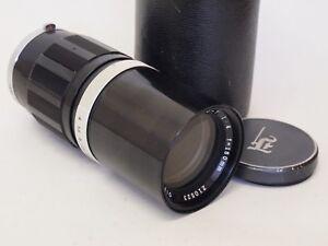 Olympus PEN F 150mm F4 Half Frame Camera Lens & Case. Stock No u8873