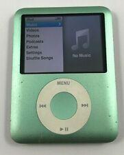 New listing Apple iPod Nano 3rd Gen. Green - 8 Gb - Fully Functional 90 Day Warranty