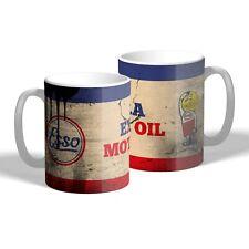 Esso Oil Drop Man Mug Vintage Car Motorbike Mechanic Oil Can Tea Coffee Mug Gift