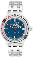 Vostok Amphibian 420059/2416 Military Russian Diver Watch Scuba Dude Blue