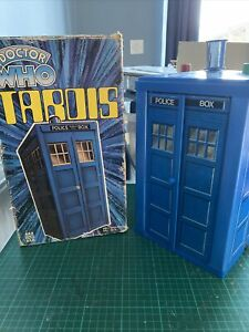 Doctor Who Tardis Figure 1979 Denys Fisher police box Dr Play Set Boxed