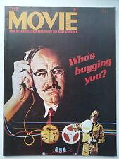 The Movie #81 magazine (1981) - Gene Hackman, Francesco Rosi, Kirk Douglas...