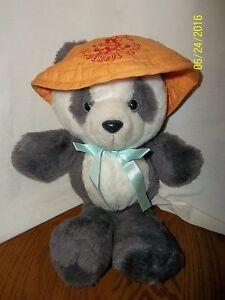 """1980s Avon Chinese PANDA World of Wonderful Bears Plush 12"""""""
