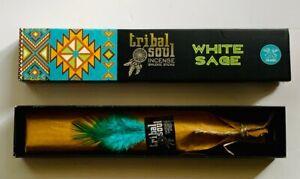 Tribal Soul White Sage Incense Sticks 15g Genuine