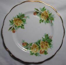 Royal Albert Tea Rose Yellow Pattern# 85119 Salad Plate Scalloped