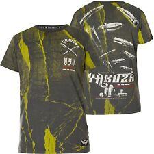 YAKUZA T-Shirt Bullets TSB-11036 Dark Shadow Grau T-Shirts