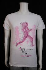 Adult SMALL Susan G. Komen Race For The Cure Fort Worth TX 2015 White T-shirt