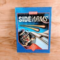 "Side Arms for IBM by Capcom 1988/91 Big Box PC 5 1/4"" Floppy Disk Video Game Vtg"