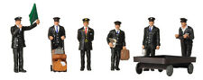 1940/50s Station Staff (x6) - Graham Farish 379-317 - N painted figures - F1