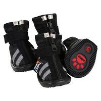 Dog Shoes Waterproof STEP - Stylish and Ergonomically shaped. 4 shoes per pack