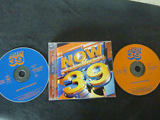 NOW THAT'S WHAT I CALL MUSIC 39 RARE DOUBLE CD! SPICE GIRLS RUN DMC ALL SAINTS