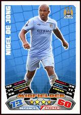 Nigel De Jong #157 Topps Match Attax Football 2011-12 Trade Card (C208)