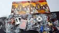 New Lego Ninjago 2504 Spinjitzu Dojo Zane Nickel Sensei Wu Ninja 7-14 373 pcs