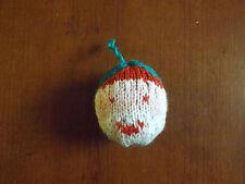 Boule de Noël Père Noël tricoté mains