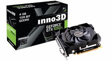 Inno3D NVIDIA Geforce GTX 1050 TI 4GB DDR5 Video Graphics Card  HDMI,DP DVI