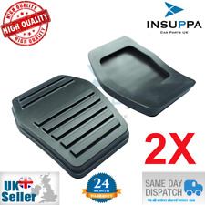 2X FORD FIESTA 2001-2008 FUSION 2001-2012 FIGO 2011 ON PEDAL PAD RUBBER 1076899